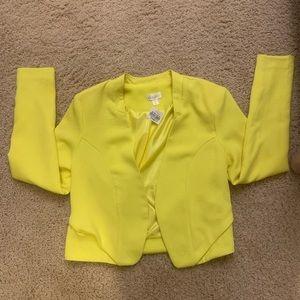 New Decree blazer neon yellow Small